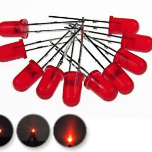 Dioda led 5mm czerwona dyfuzyjna - wygląd