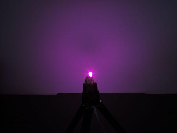 Dioda led płaska 5mm różowa 2000 mcd 40-60st