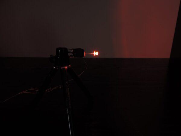 Dioda led płaska 5mm czerwona 3000 mcd 40-60st
