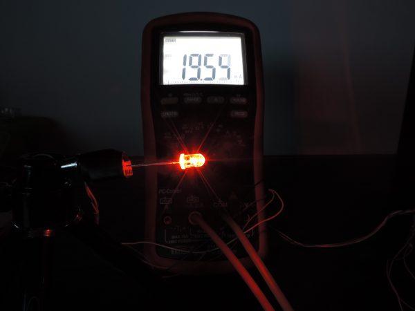 Dioda led 5mm dwukolorowa czerwono-zielona wsp-anoda pomiary