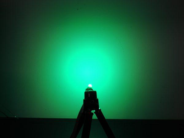Dioda led 5mm dwukolorowa czerwono-zielona dyfuzyjna - zielony